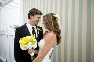 Real wedding hairstyling by Jeffrey Paul