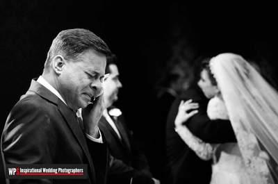 50 fotos de pais de noivas e noivos que são pura emoção!