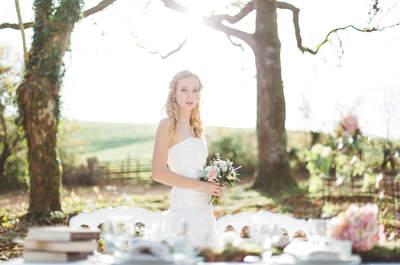 Imaginez votre mariage féérique grâce à ce shooting d'inspiration Alice aux pays des merveilles
