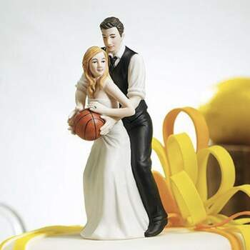 Cake Topper Conjoints Basket - The Wedding Shop !