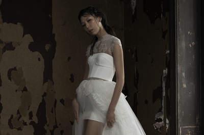 30 wunderschöne Brautkleider in zwei Teilen – Es muss nicht immer der Klassiker sein!