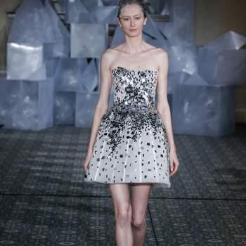 Kleid von MIRA ZWILLINGER. Credits: New York Bridal FASHION WEEK April2018