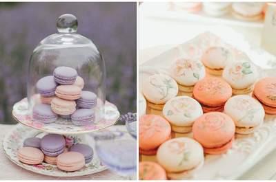 Макаруны для свадебного стола. Твоя свадьба во французском стиле