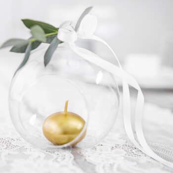 Velas flotantes doradas 50 unidades- Compra en The Wedding Shop