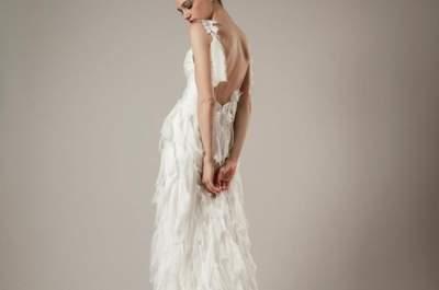 Vestidos de novia de Elizabeth FIllmore colección primavera 2014