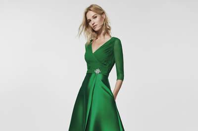 Зеленые платья: ярко и стильно!