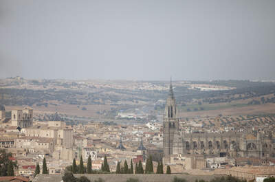 La boda de Begoña y Jorge: Espectaculares vistas de Toledo