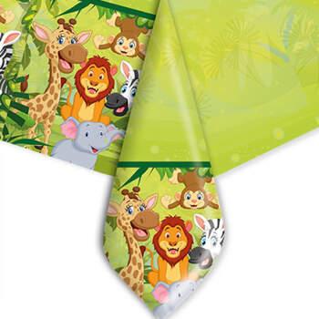 Mantel de plástico jungle- Compra en The Wedding Shop