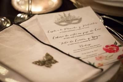 Asistimos a una auténtica fiesta de máscaras en la clausura del curso Wedding Event Planner