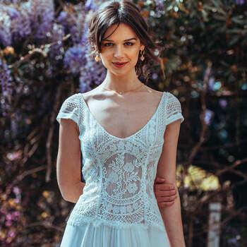 Photo : Guillaume Gilles - Elsa Gary, robe de mariée Amour Toujours