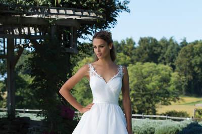 Anmutig und romantisch - so sind die Kleider der Sincerity Bridal Kollektion für Herbst und Winter 2017