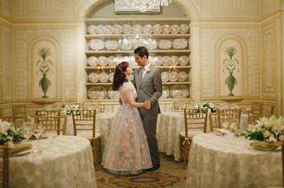 Carol & Pedro: mini wedding ousado e original em palácio neoclássico do Rio de Janeiro