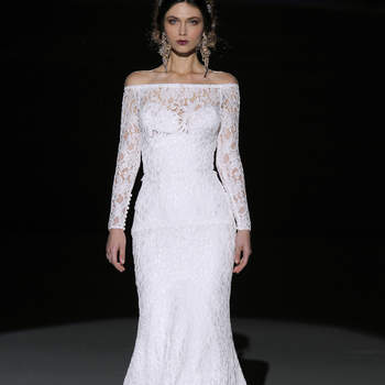 Jesús Peiró. Credits- Barcelona Bridal Fashion Week