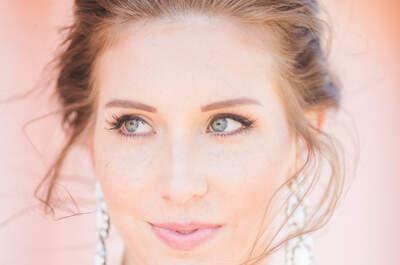 Cómo hacer que tus ojos se vean más grandes el día de tu boda. ¡Sigue estos 5 pasos!