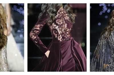 Zuhair Murad Haute Couture Automne - Hiver 2015/2016 : D'incroyables constellations de broderies