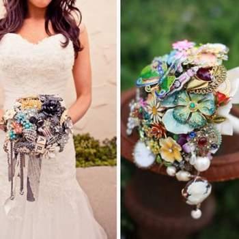 Tante proposte per bouquet originali a base di fiori artificiali