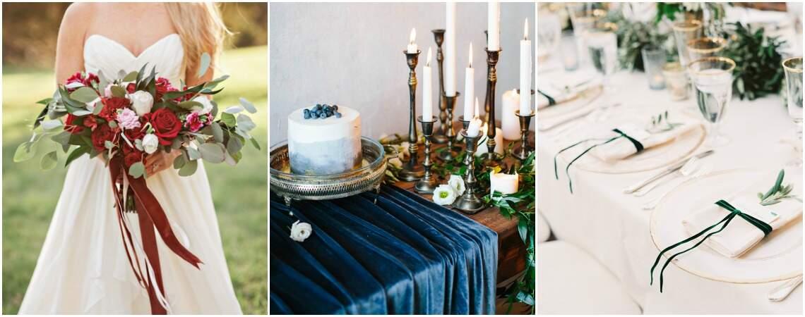 Terciopelo en tu matrimonio: ¡Apuesta por este tejido para tu boda en los meses más fríos del año!