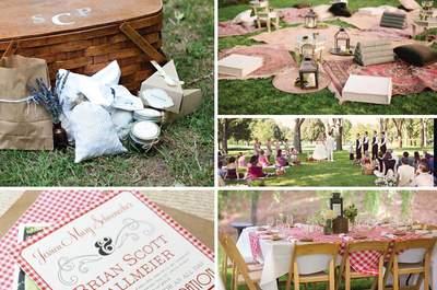 Boda estilo picnic