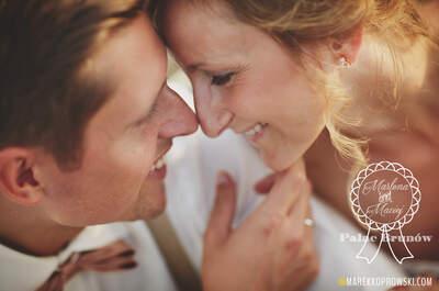 Ślub w ogrodzie pałacowym oraz wspaniałe wesele w Pałacu Brunów Maleny i Macieja. Musisz go to zobaczyć!