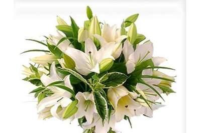 22 ramos de novia con flores blancas: ¡Será uno de los complementos más hermosos de tu look nupcial!