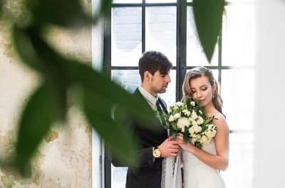 Красота в деталях: свадьба Софии и Владимира в минималистичном стиле