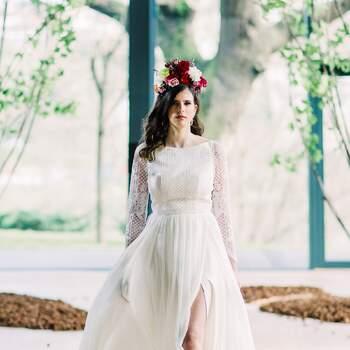 Desfile Gio Rodrigues Bridal 2021 patrocinado por Alfarparf Milano | Foto: Edgar Dias Photograhpy