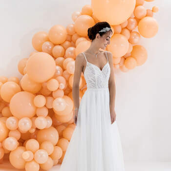 Photo : Eglantine Mariages & Cérémonies, robe Kristal