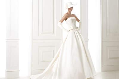 Les robes de mariée coupe princesse de la collection Pronovias 2015