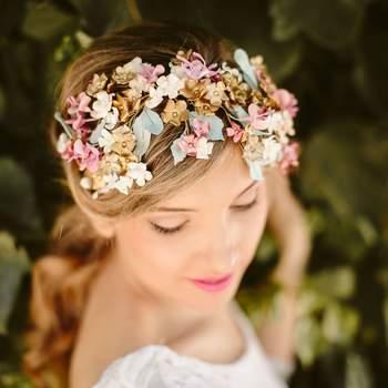 Tocados para novia 2017: El complemento ideal para todo tipo de novia