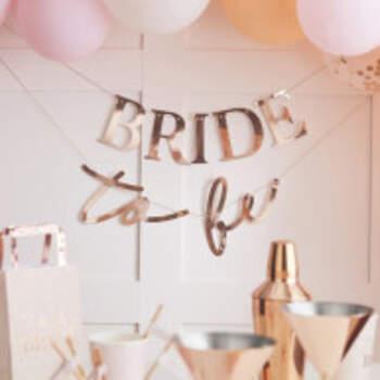 Banderole Bride To Be Romantique - The Wedding Shop !