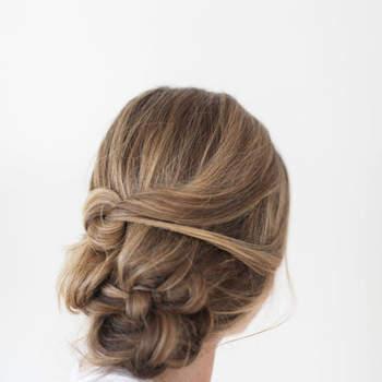 Penteado para noiva com cabelo preso | Foto: Ruth Eileen