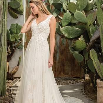 Style 2301 Sierra. Credits: Casablanca Bridal