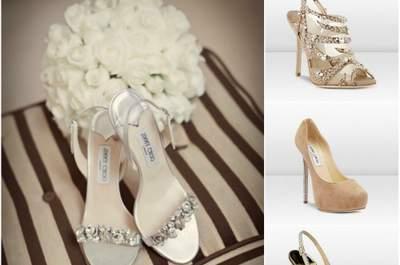 Sapatos de Noiva Jimmy Choo 2012 - coleção Brides