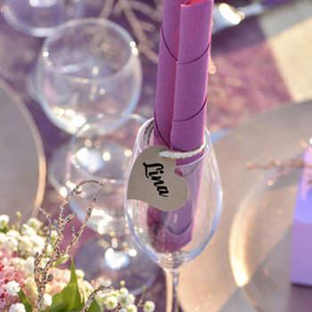 Marcasitio Corazones de cartón 10 Unidades - Compra en The Wedding Shop