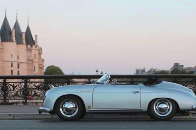 Roadstr : Une voiture vintage pour une arrivée de rêve le Jour J !