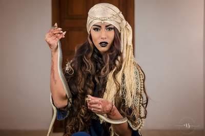 Une inspiration venue tout droit de Marrakech pour un mariage oriental chic