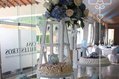 Ángel de María mi dulce compañía: 5 ideas originales y muy dulces para ponqués y tortas de boda