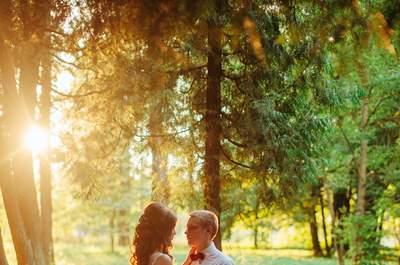 Все краски осени: свадебная фотосессия Владимира и Марии
