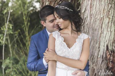 Los detalles de la emocionante boda verde de Caro y Juanse