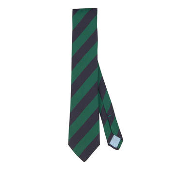 Corbata verde y azul marino. Credits: El Ganso