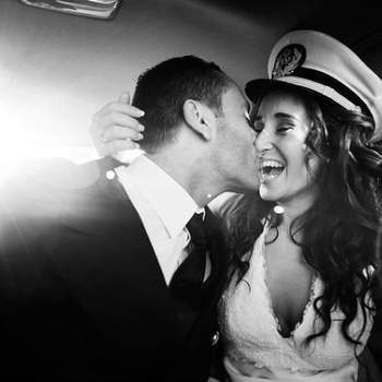 Una gorra de capitán que da mucho juego en la sesión de fotos. Foto: Pablo Costa
