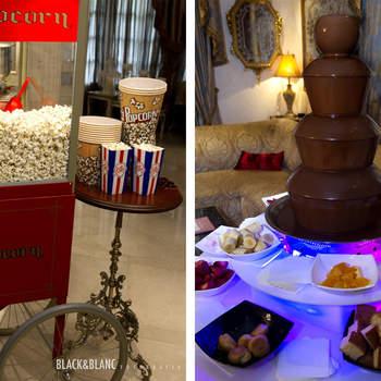 Los novios también pudieron descubrir algunas opciones para la fiesta posterior al banquete. Foto: Belle Day. http://belleday.com/es/