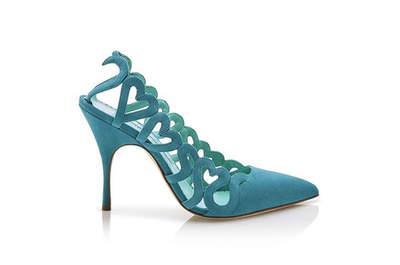 Oszałamiające kolorowe buty ślubne 2017: ożyw swoją stylizację!