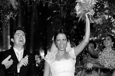 Casamento de Marina e Brian: amor que supera a distância