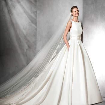 Entdecken Sie 35 Brautkleider mit Taschen 2017! Das gewisse Etwas im Brautlook