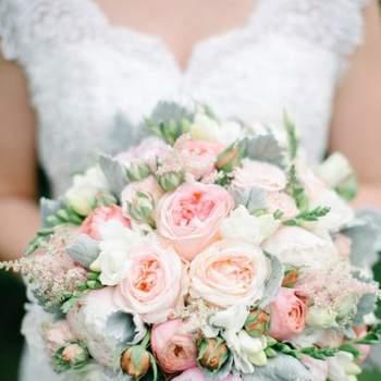 Свадебные букеты с пионами. Влюбитесь с первого взгляда!