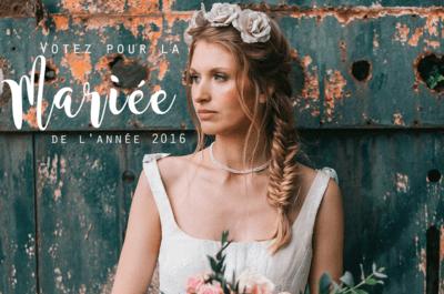 Concours de la mariée de l'année 2016 : c'est le moment de voter !