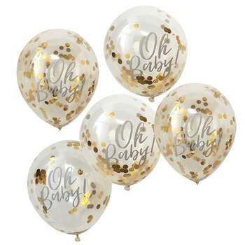 Globos Oh Baby 5 unidades- Compra en The Wedding Shop