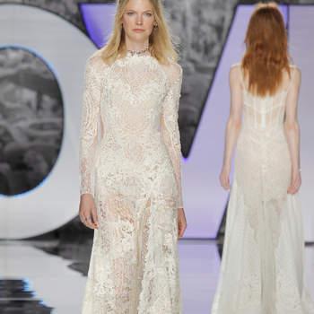 Vestidos de novia con encaje: un diseño refinado para el día más especial