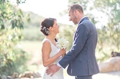 Sébastien et Sandrine : un mariage laïque dans la tradition Corse